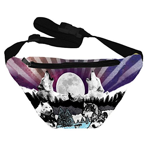 Funny Guy Mugs Wolf Fanny Pack