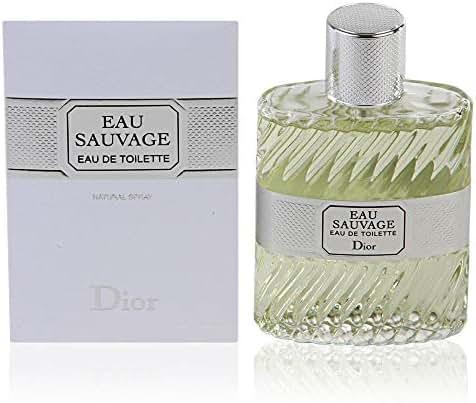 Eau Sauvage by Christian Dior for Men Eau De Toilette Spray 3.4 Oz.