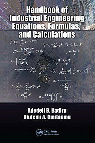 Industrial Handbook - Handbook of Industrial Engineering Equations, Formulas, and Calculations (Systems Innovation Book Series)