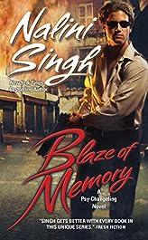 Blaze of Memory (Psy-Changelings, Book 7) (Psy/Changeling Series)