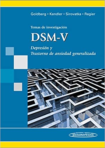 Temas de investigación DSM-V: Depresión y trastornos de ansiedad generalizada: Amazon.es: David Goldberg: Libros