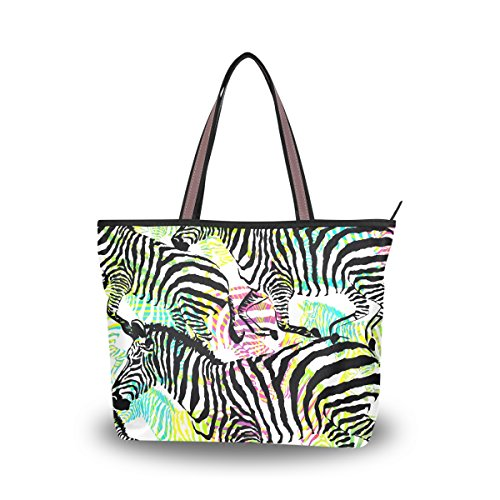 purse organizer inserts zebra - 7