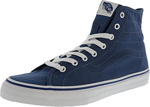 Bestelwagen Dames Sk8-hi Decon Hoge Top Vetersluiting Fashion Sneakers Marine / True White