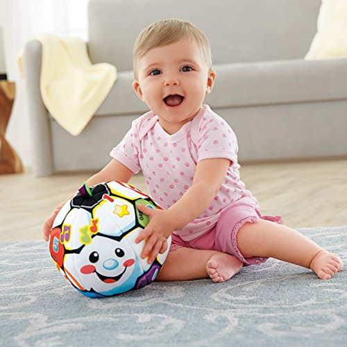 518dQ2VzlXL - Fisher-Price Laugh & Learn Singin Soccer Ball