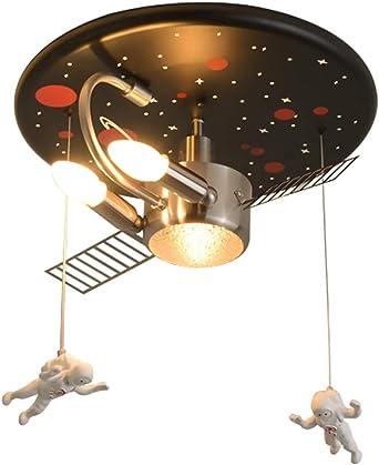 H.W.S Lámpara de techo para niños Regulable con control remoto ...
