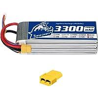 YOWOO 6S Lipo Batería 3300mAh 60C 22.2v RC