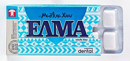 Elma Dental Chios Mastic Gum 10 Pieces 14gr - From 100% Fresh Original Xios (Masticha or Mastixa)