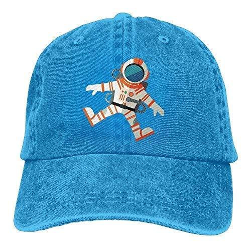 Abdul. Astronaut Denim Baseball Caps Hat Adjustable Cotton S