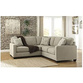Ashley Alenya 16600-55-67 2PC Sectional Sofa with Left Arm Facing Loveseat Right  sc 1 st  Amazon.com : ashley cowan sectional - Sectionals, Sofas & Couches