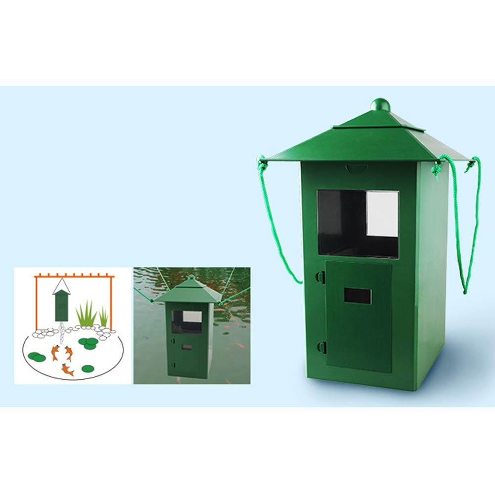 MeterMall Fish Feeder, 5L Large Capacity Timing Automatic Fish Feeder for Aquarium Pond by MeterMall (Image #7)