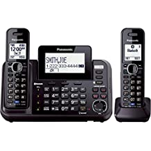 [Sponsored] Panasonic KX-TG9542B Link2Cell Bluetooth Enabled 2-Line Phone with Answering Machine & 2 Cordless Handset