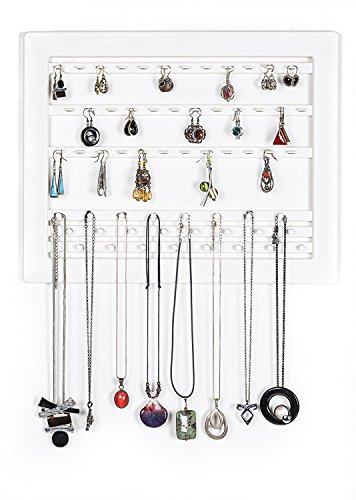 Kashay White Jewelry Outside The Box - Contemporary Hanging Organizer Display Frame