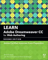 Learn Adobe Dreamweaver CC for Web Authoring, 2nd Edition Front Cover