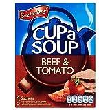 Batchelors Cup a Soup Beef & Tomato 4 Sachets 4 x 22g