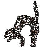Kurt Adler 19-Inch Halloween Black Cat with 35 UL Lights