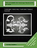 2003 ALFA ROMEO 156 Turbocharger Rebuild and Repair Guide: 716665-0002, 716665-5002, 716665-9002, 716665-2, 55191934