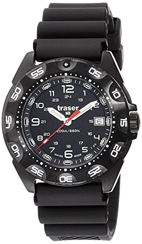 traser watch Tornado Pro 20 ATM water resistant military diver 9,031,567 men's [regular imported goods]