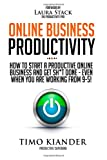 Online Business Productivity, Timo Kiander, 1492199869