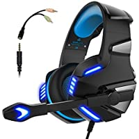 Gaming Headset for PS4 Xbox One, Micolindun Over Ear...