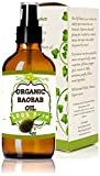 (US) Slice Of Nature ORGANIC BAOBAB OIL Virgin, Cold Pressed, 100% Pure Baobab Oil, Face Hair and Body Beauty Oil 4 oz