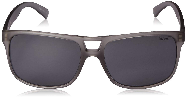 Revo Polarized Sunglasses Holsby Modified Rectangle Frame 58 mm