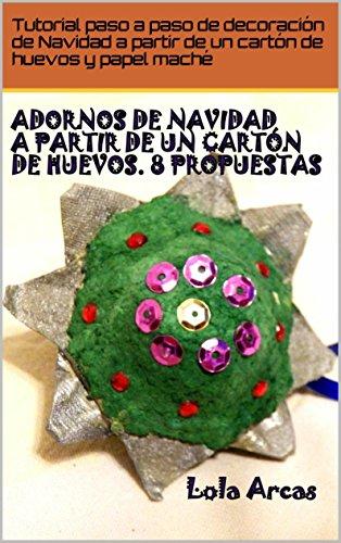 Amazoncom Adornos De Navidad A Partir De Un Carton De Huevos 8 - Adornos-de-navidad-con-carton