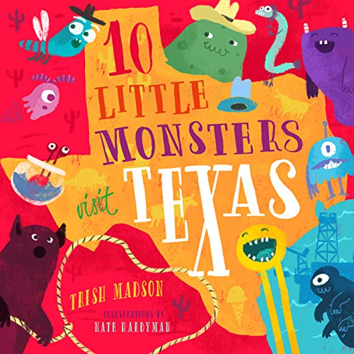 Fun Halloween Things To Do With Toddlers (10 Little Monsters Visit Texas)