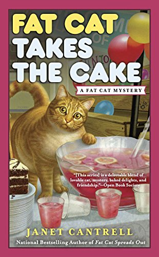 Fat Cat Takes the Cake (A Fat Cat Mystery Book 3)