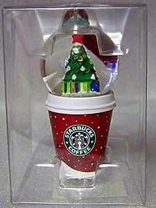 Amazon.com: Starbucks Christmas Ornament - Mini Cup With