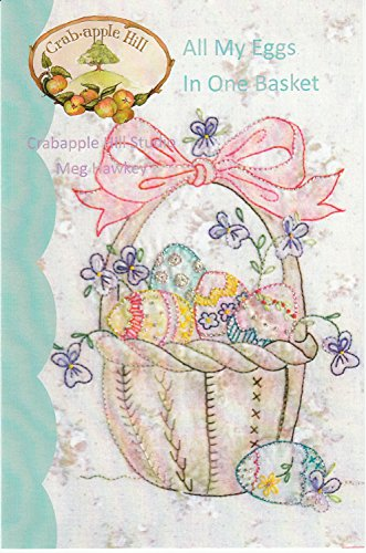 All My Eggs in One Basket Easter Embroidery Pattern by Meg Hawkey From Crabapple Hill Studio #272 - 7