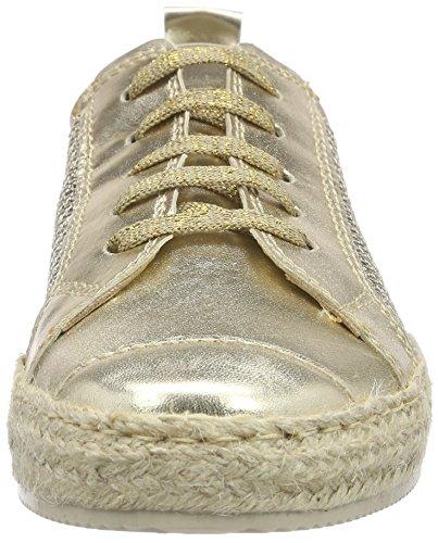 Tamaris Damen 23625 Espadrilles Gold (LT.GOLD STRUC. 932)