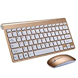 Wireless Desktop Keyboard and Mouse, eTTgear Entertainment Keyboard and Mouse, 2.4GHz Encrypted Wireless Connection, Long Battery Life with Whisper quiet Design