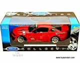 12569r Welly - Saleen S281 E Mustang Hard Top (2007, 1:18, Red) 12569 Diecast Car Model Auto Vehicle Die Cast Metal Iron Toy Transport