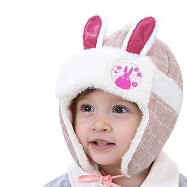 Bonnet Bébé, 2PC Cheveux Chapeau Casque Enfant Imprimer Bonnet écharpe  Laine Ensemble Solide, Automne ed9cc7a6eac