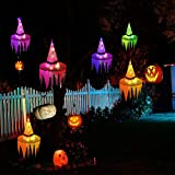 Newooh Halloween Lights, Battery Operated Witch Hat