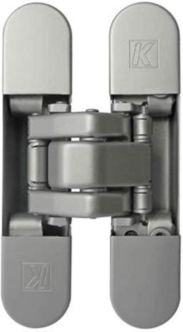 Cremallera de 7de regulable en 3ejes atomika Slim K8060Koblenz–Cromo Satinado Full HD