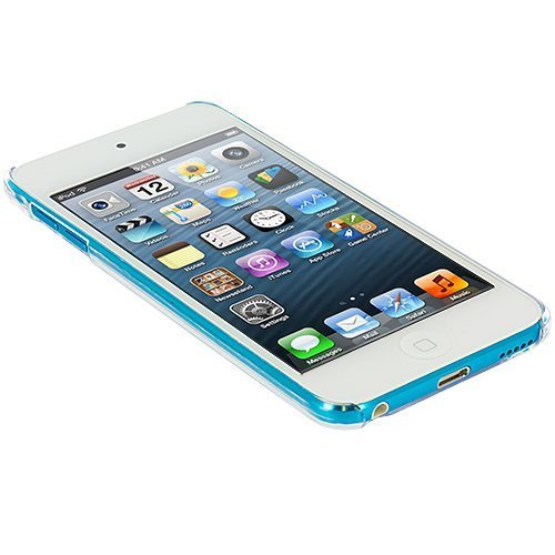 SODIAL(TM) Clear Ultra Thin Slim Hard Snap-On Transparent Crystal Back Cover Skin Case for New iPod Touch 5th Generation 5G 5