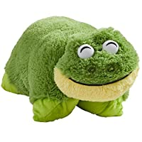 "Pillow Pets Signature, Friendly Frog, 18"" Stuffed Animal Plush Toy"