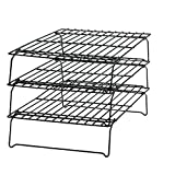 "Wilton 2105-459 Excelle Elite 3-Tier Cooling Rack, 15 7/8"" X 9 7/8"" (Kitchen)"