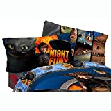 Dreamworks Dragons 2 Dragon Flyer Sheet Set, Twin