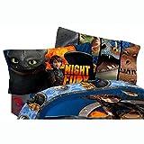 Dreamworks Dragons 2 Dragon Flyer Sheet Set, Twin