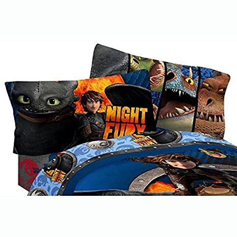 Dreamworks 2 Dragon Sheet Set, Twin