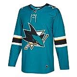 San Jose Sharks Adidas NHL Mens Climalite Authentic Team Hockey Jersey