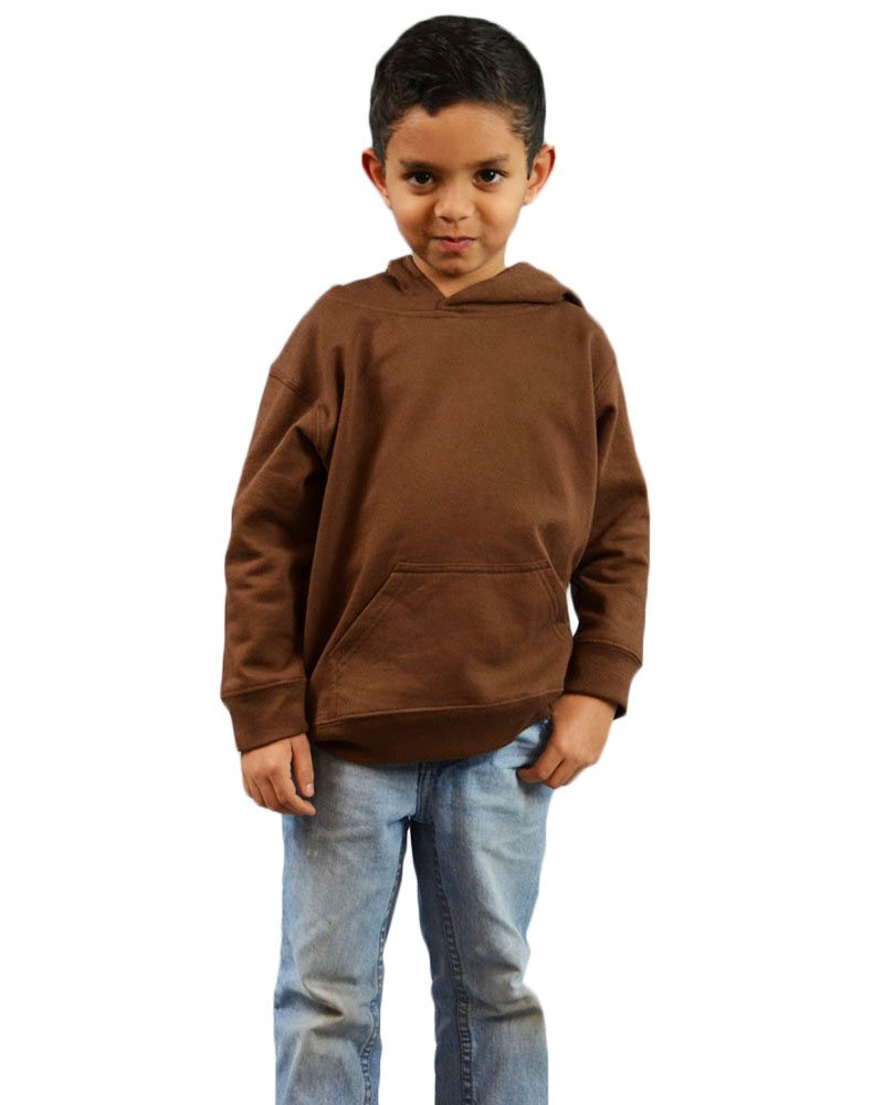 Monag Infant Fleece Hooded Pullover 2Y Chocolate