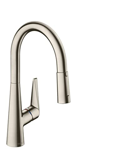 Amazon.com: Hansgrohe Talis S Sink Mixer Tap With Extending Spout ...
