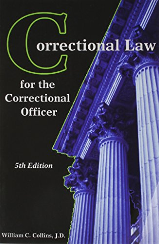 Books : Correctional Law for the Correctional Officer