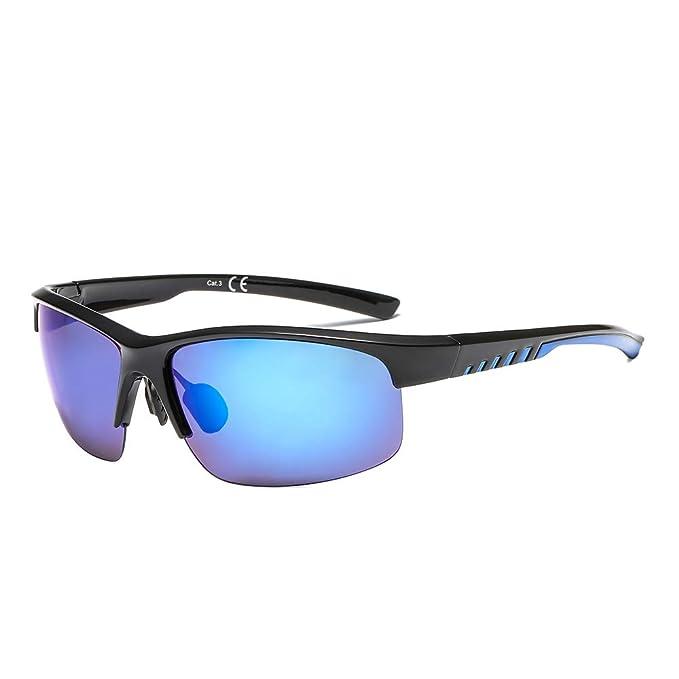 SUERTREE gafas de sol polarizadas deportivas a prueba de viento anteojos hombres Montaña Sombras JH6004: Amazon.es: Ropa y accesorios