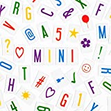 Vibrant Letter Pack for MINI My Cinema Lightbox - 100 letters, numbers, characters, & symbols!