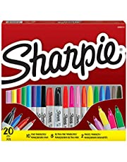 Sharpie permanente marker, fijne punt, diverse kleuren