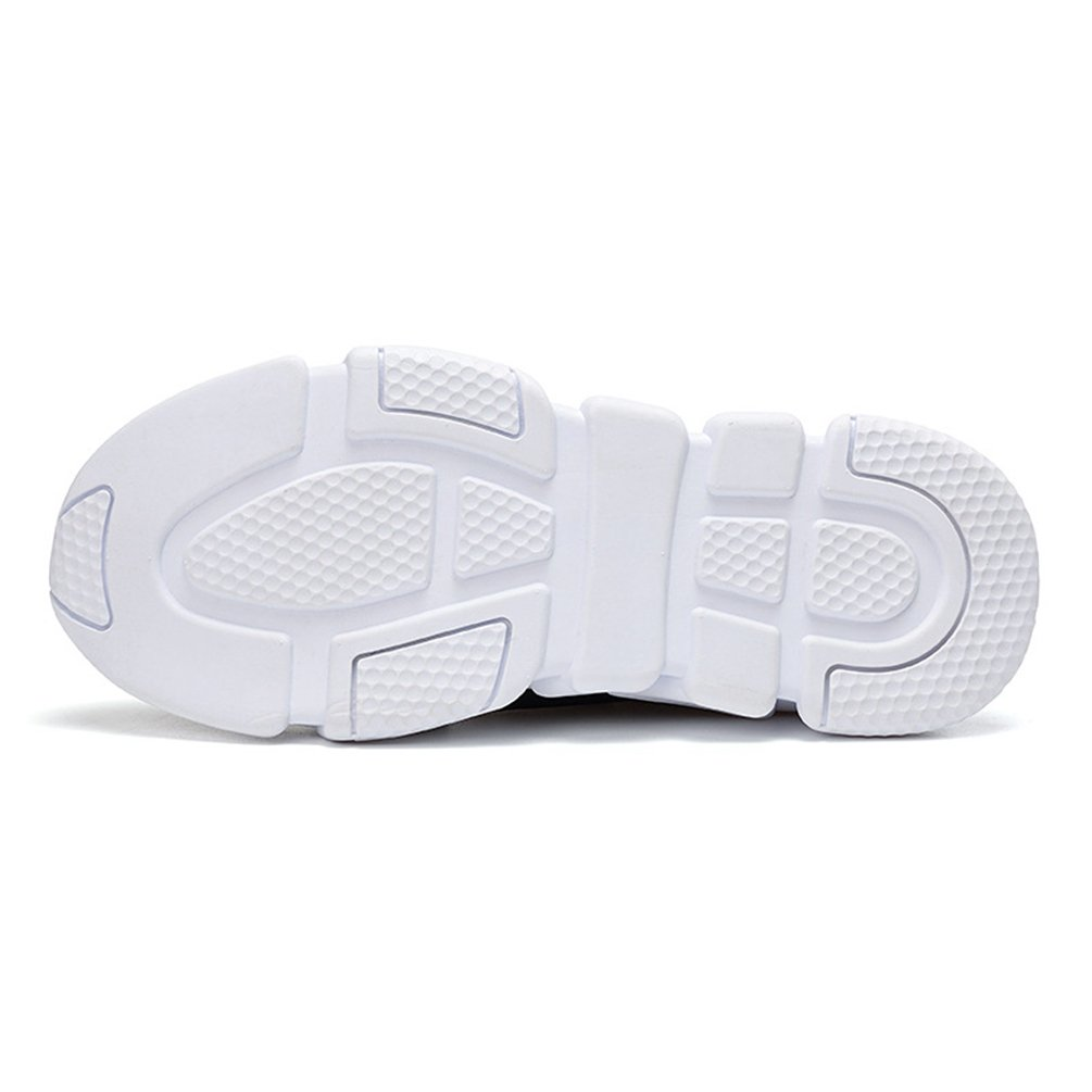 ee11c2df9c7531 Basket Homme Sans Lacets Chaussure Sport Running Tissu Confortable Antichoc  Sneakers Mode Endurance 39-44: Amazon.fr: Chaussures et Sacs